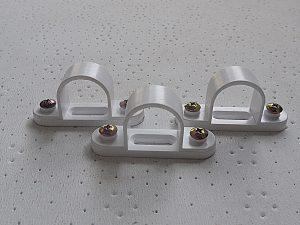 25 MM Saddle (White)