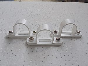 32 MM Saddle (White)